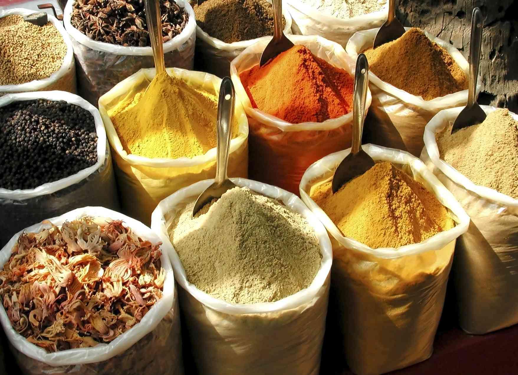 Spices in Chennai.