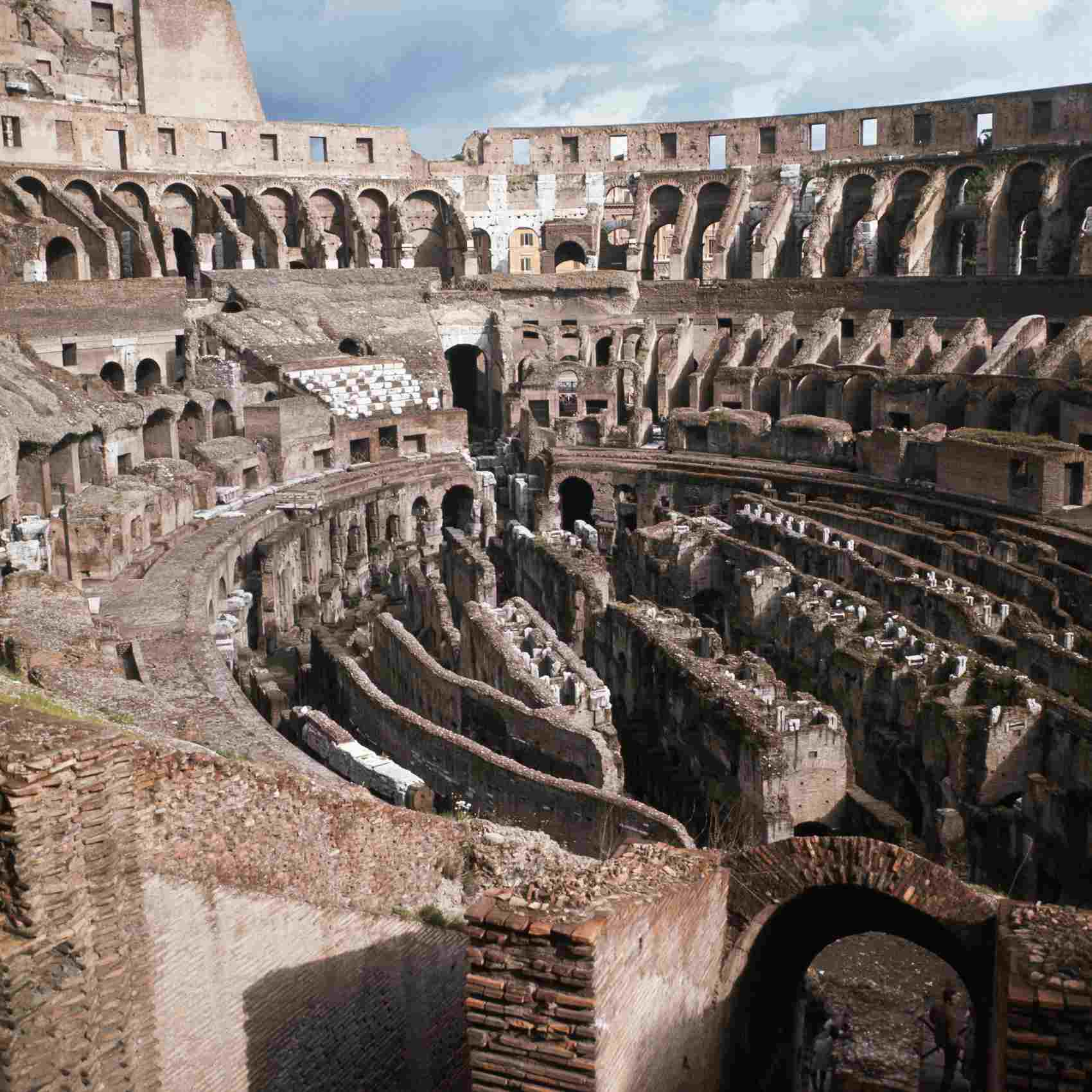 The Colosseum is worth paying the entry fee