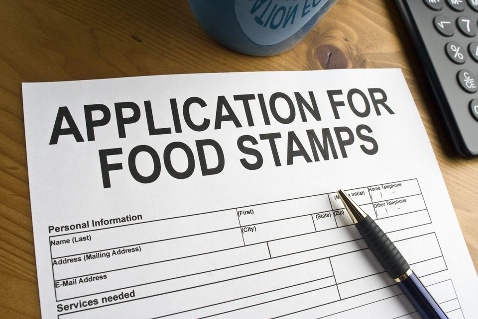 Application for food stamps