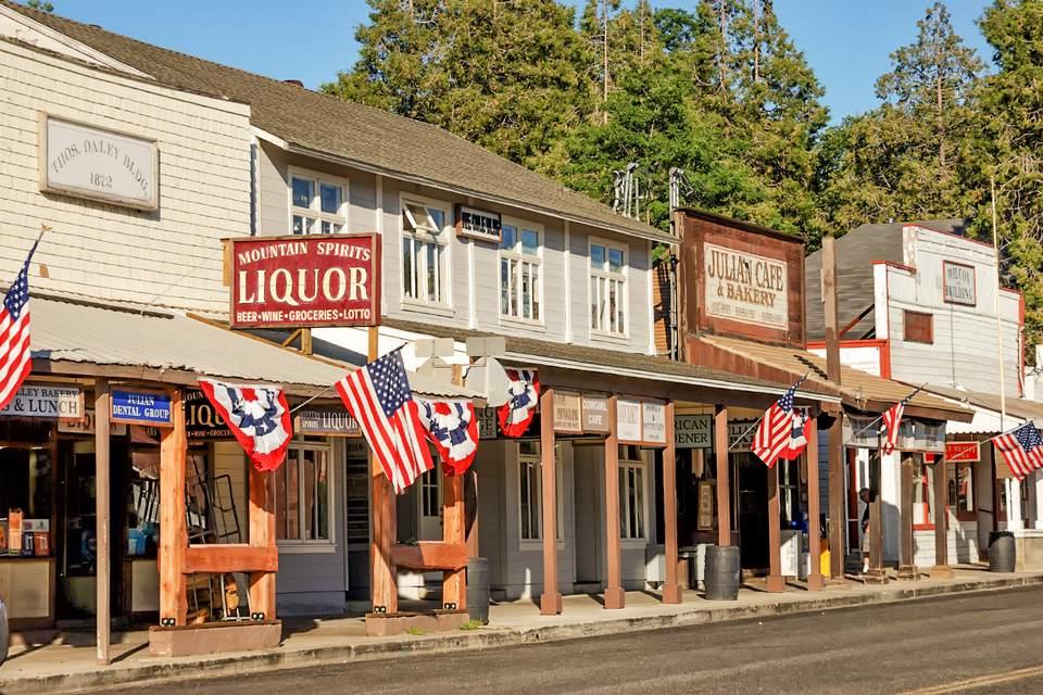 Main Street in Julian, California