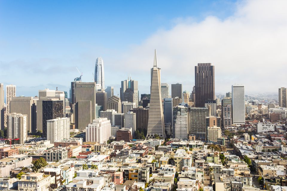 San Francisco skyline during the day