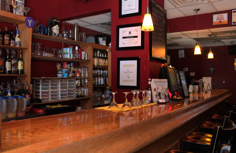 Bar at Jen's and Friends