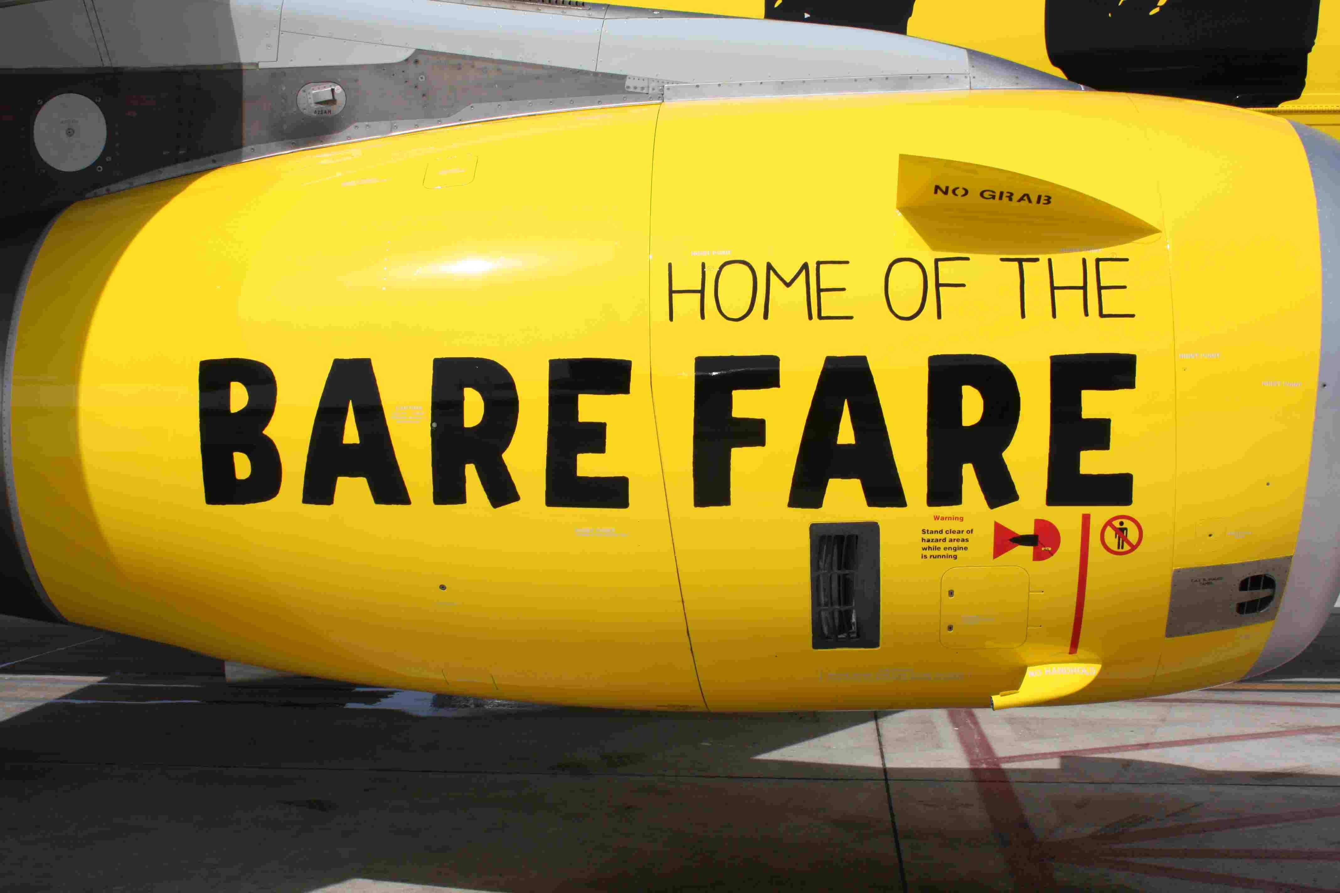 Spirit Airlines engine