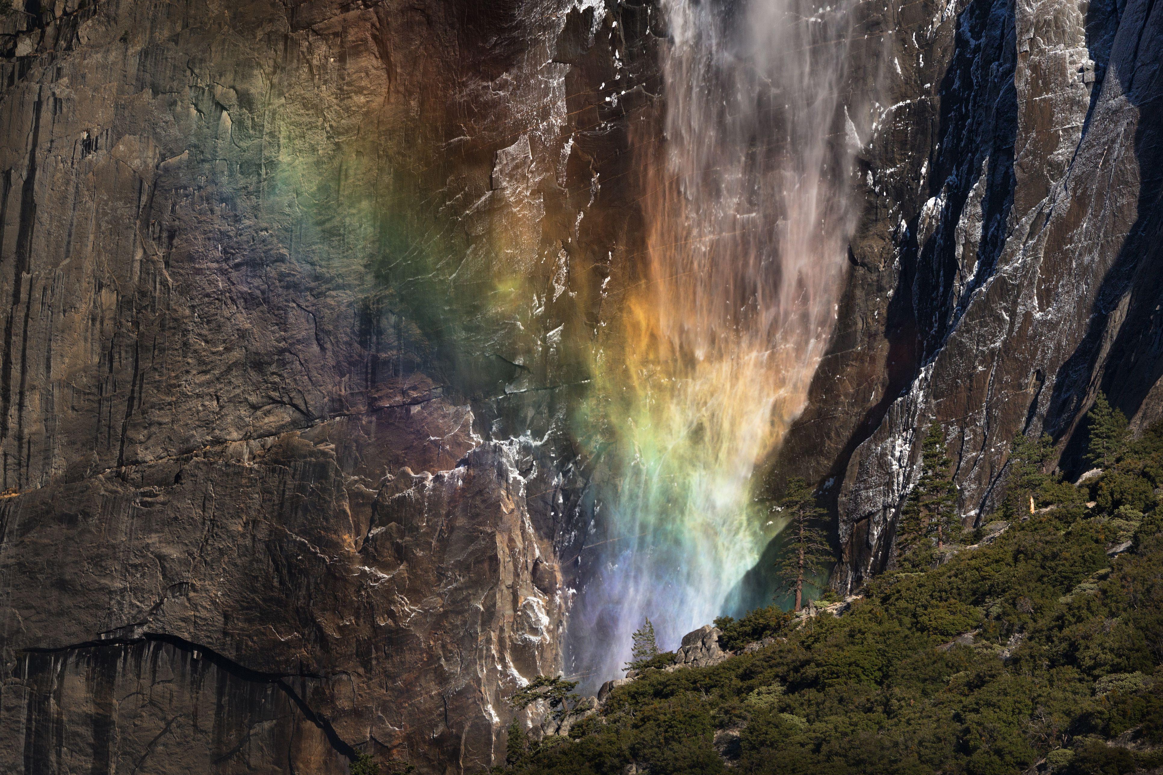 Yosemite Falls Mist Bow