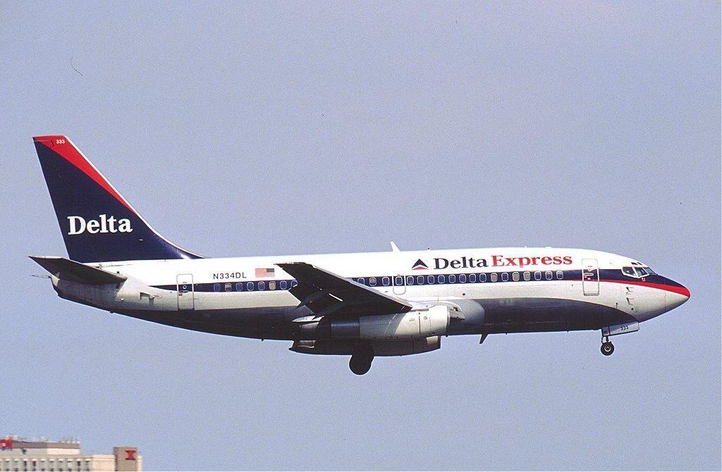 Delta Express Boeing 737-200