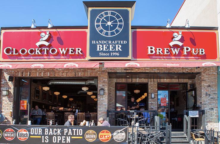Clocktower Brew Pub