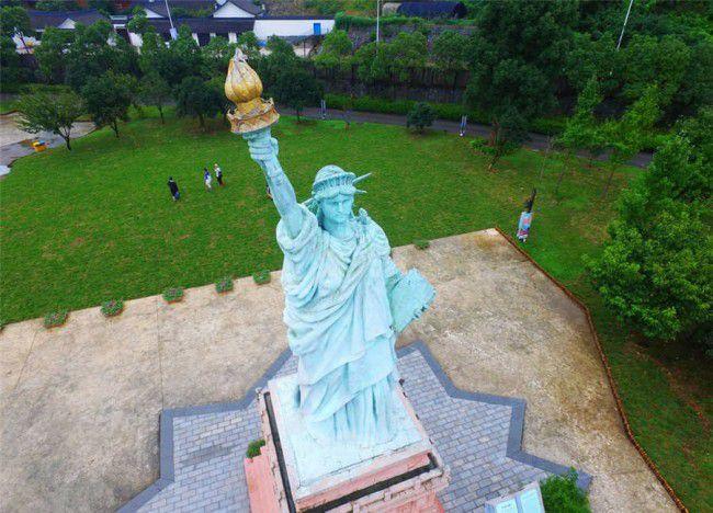 Parque de réplica de Ningbo Estatua de la libertad