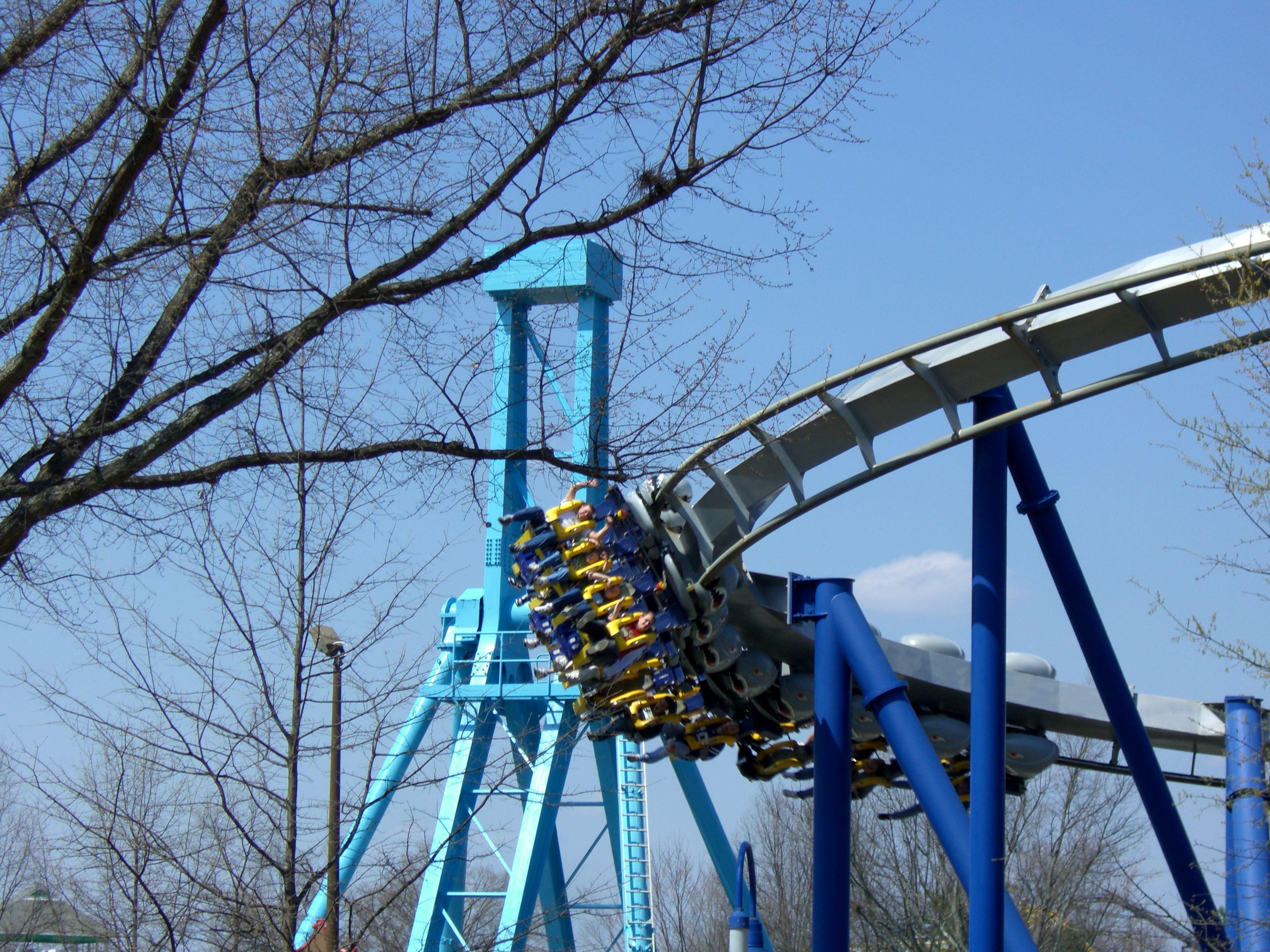 Afterburn roller coaster