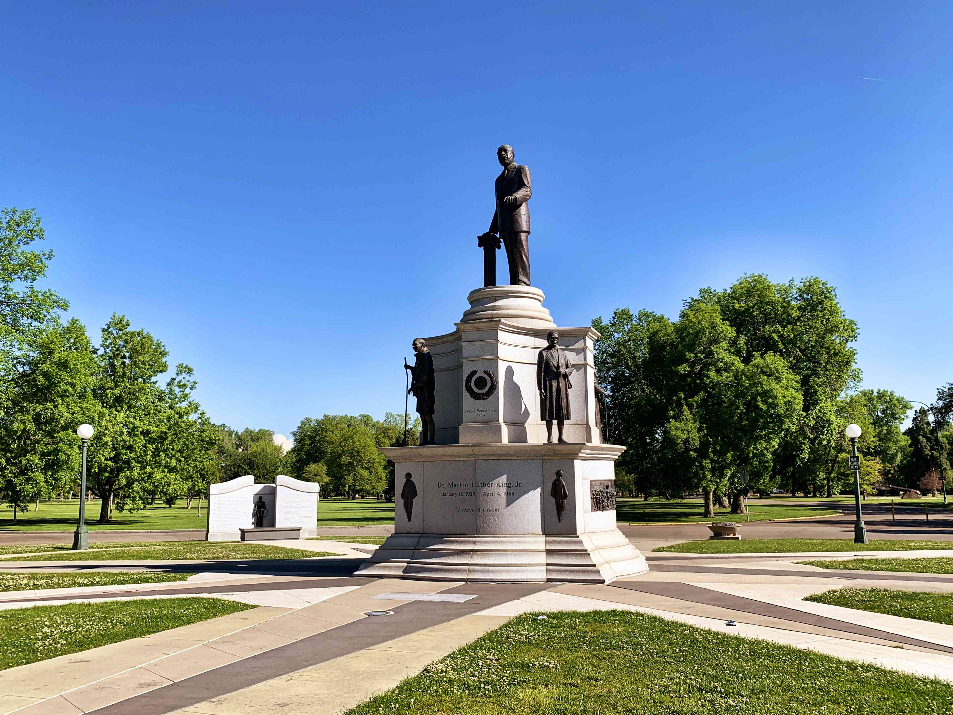 Statue in City Park