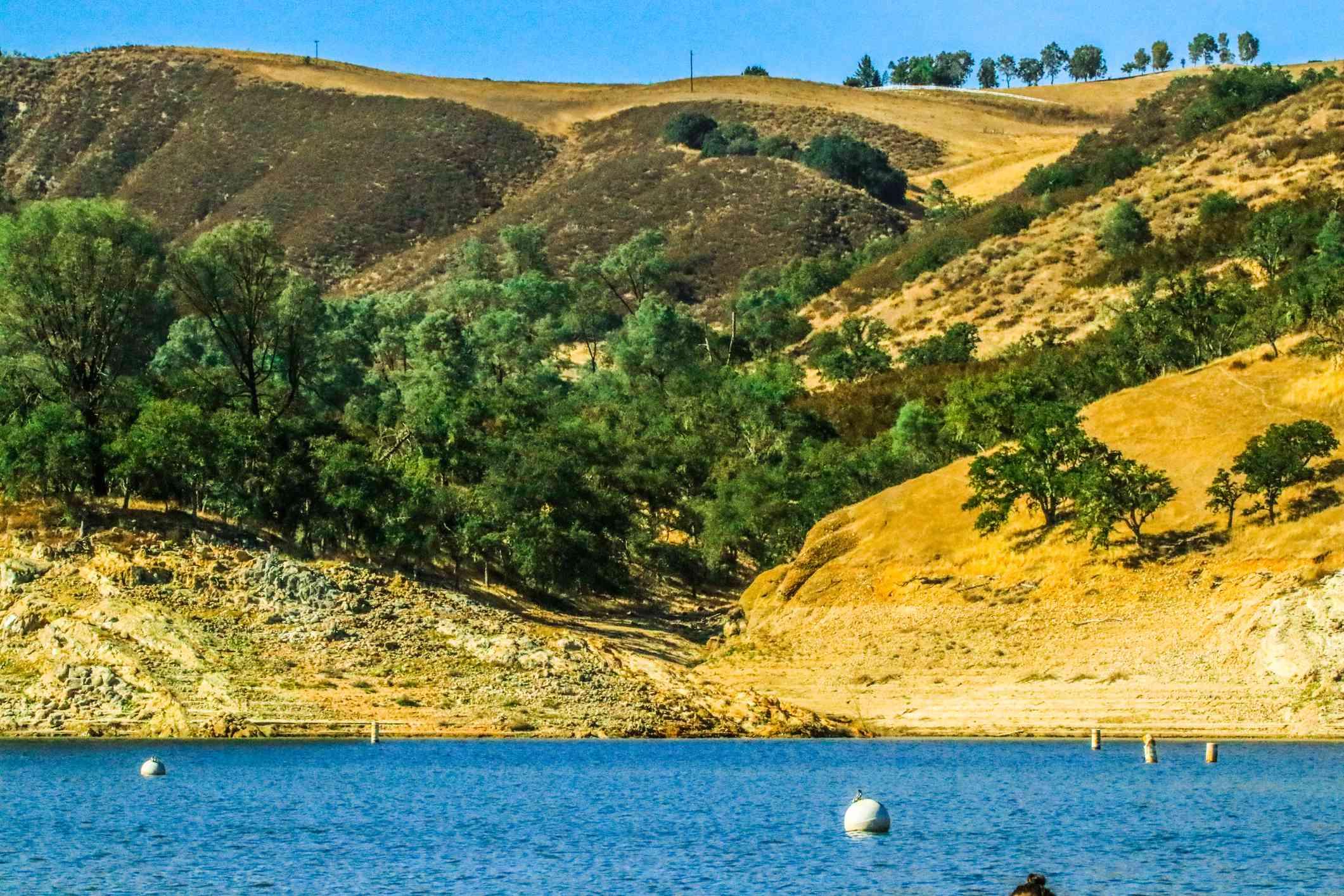 A late summer day at Lake Nacimiento