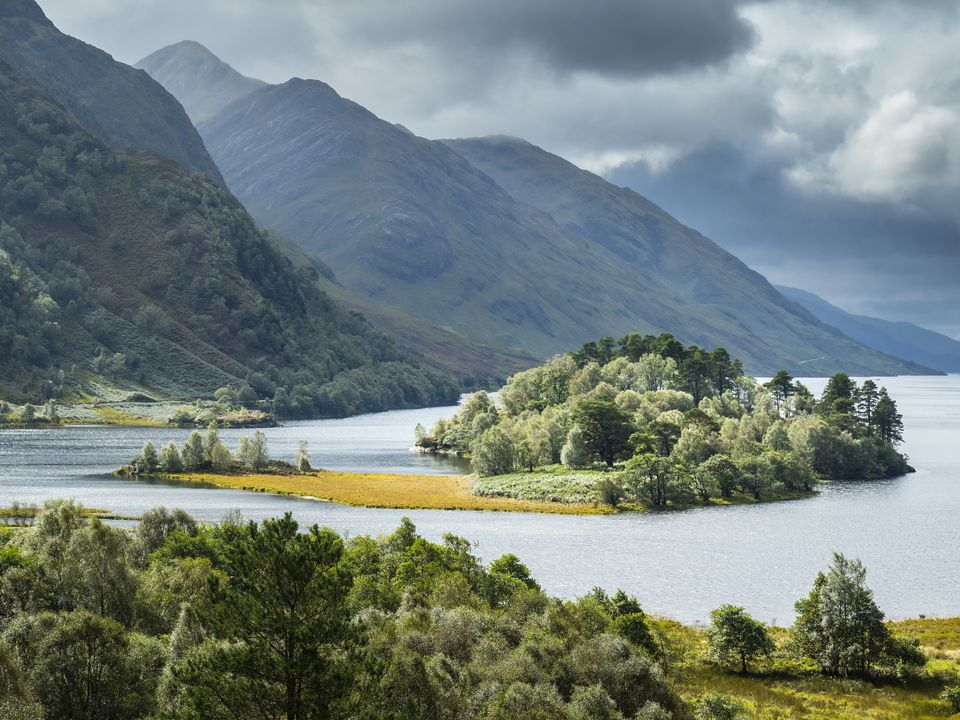 Great Britain, Scotland, Scottish Highlands, Loch Shiel, Glenfinnan