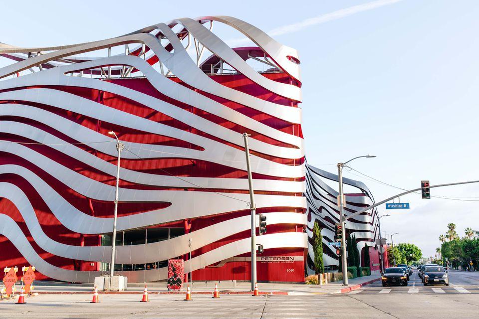 Petersen Automotive Museum in Los Angeles, CA