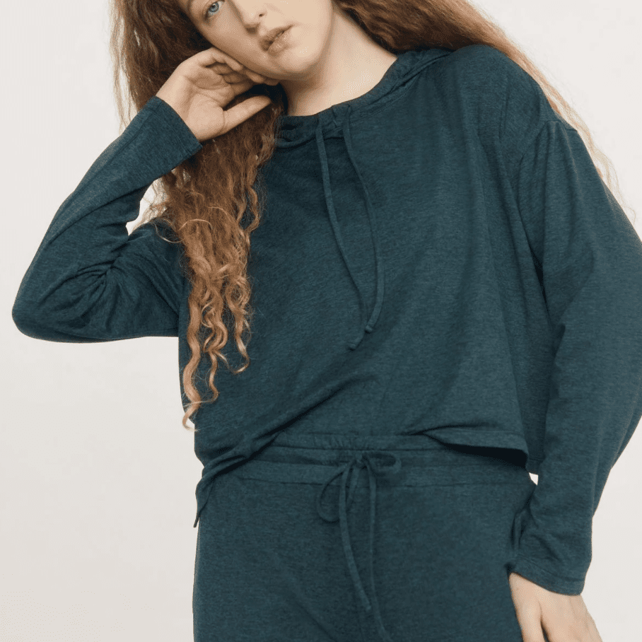 Girlfriend Collective R&R Jogger and Hoodie