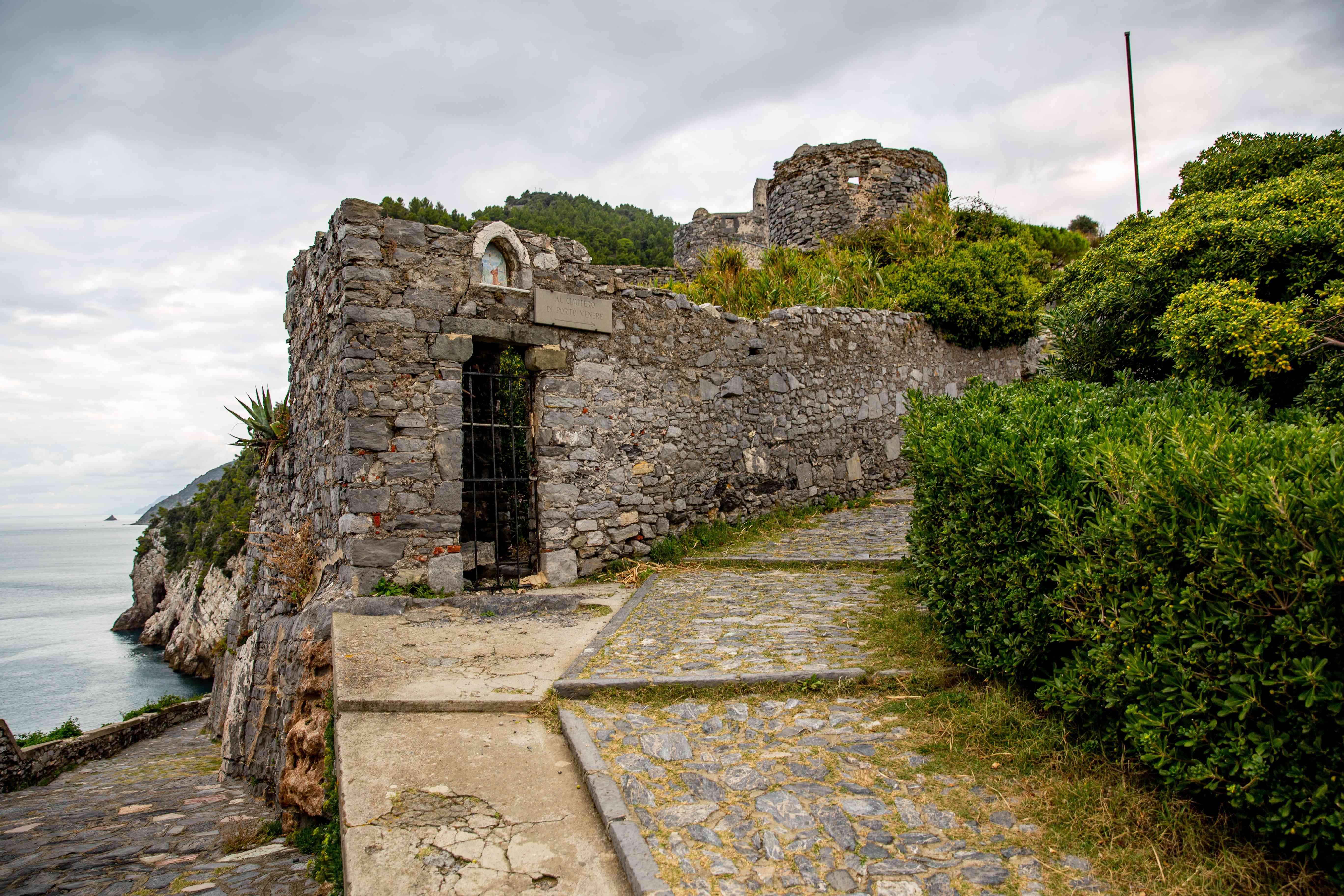 Andrea Doria Castle Of Portovenere, Italy