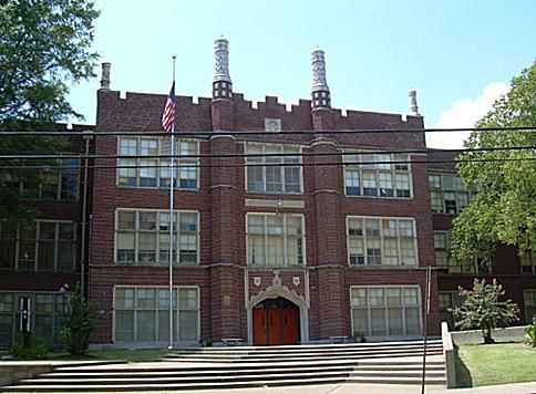Humes High School, located in downtown Memphis, was Elvis' alma mater.