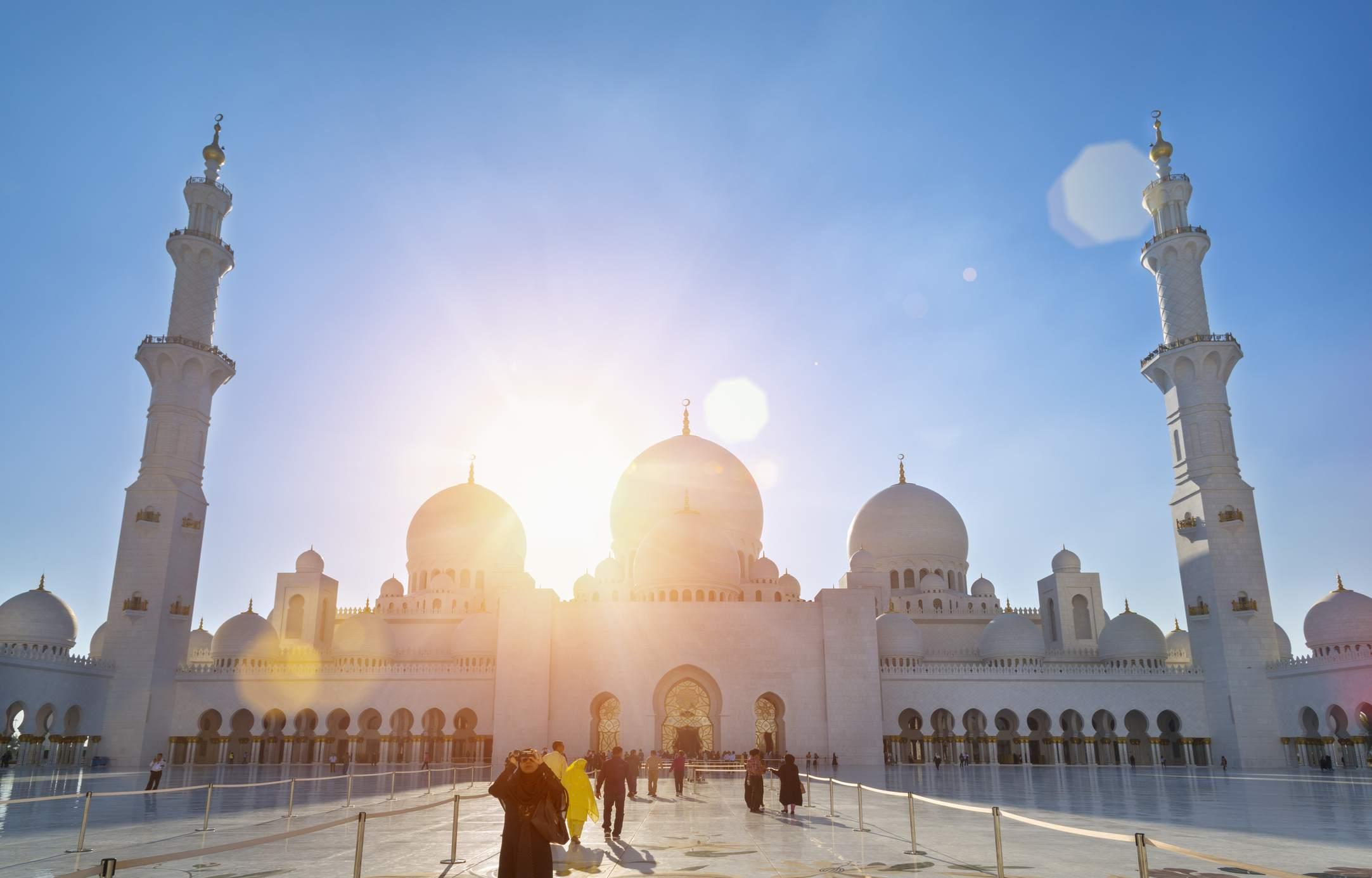Abu Dhabi Grand Mosque, Sheikh Zayed Mosque