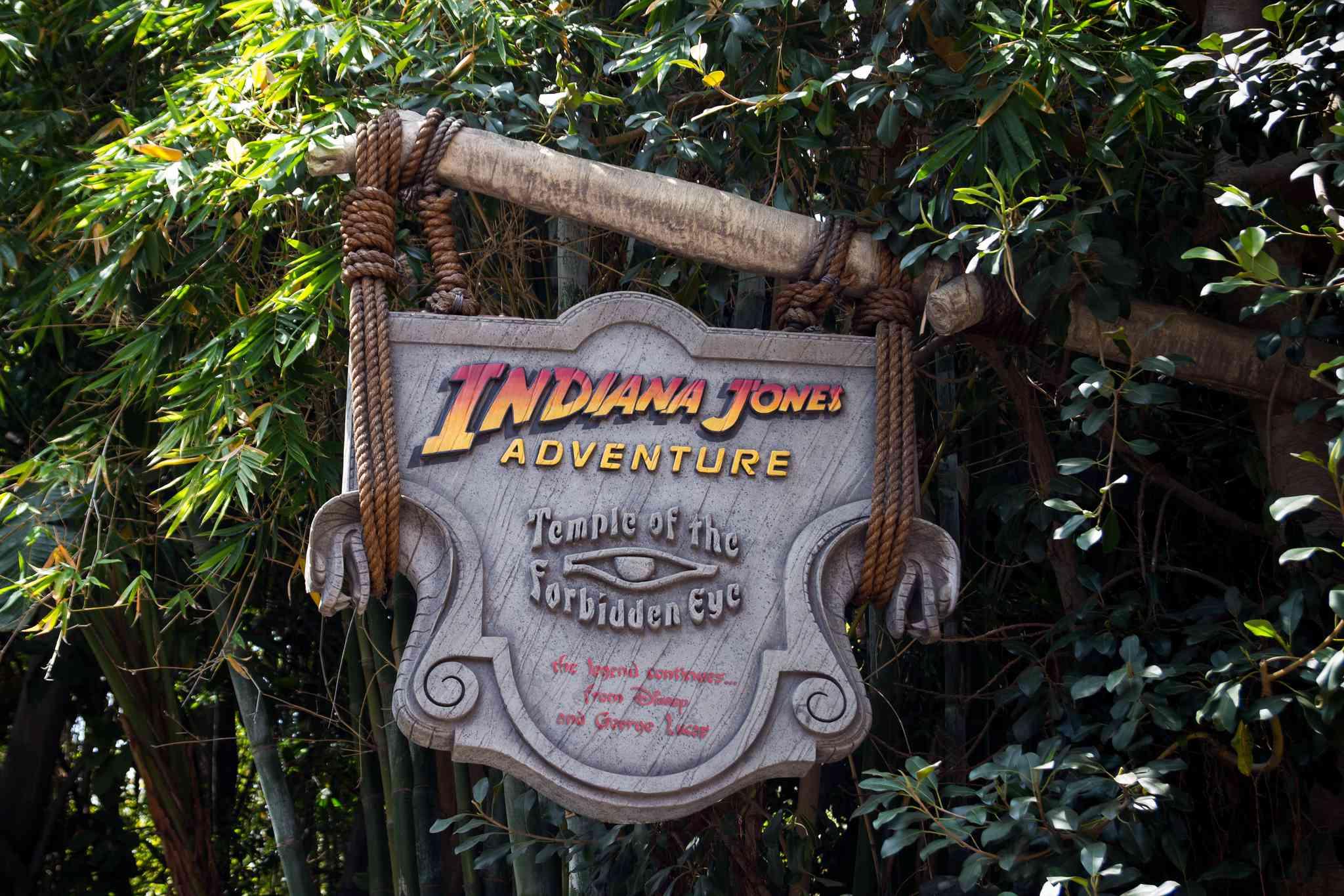 Cartel de Indiana Jones Adventure Disneyland