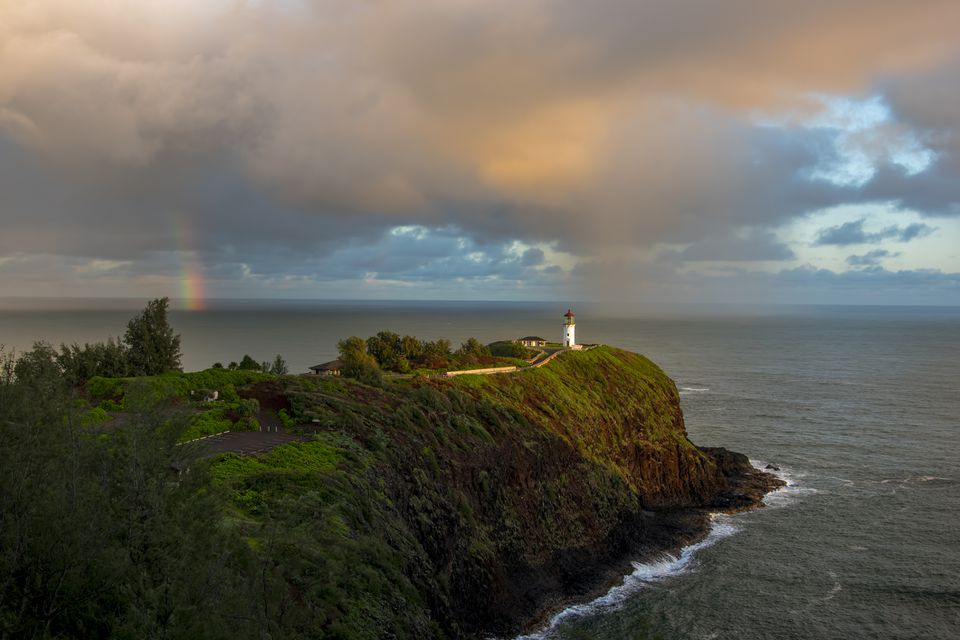 Kilauea Lighthouse on Kauai