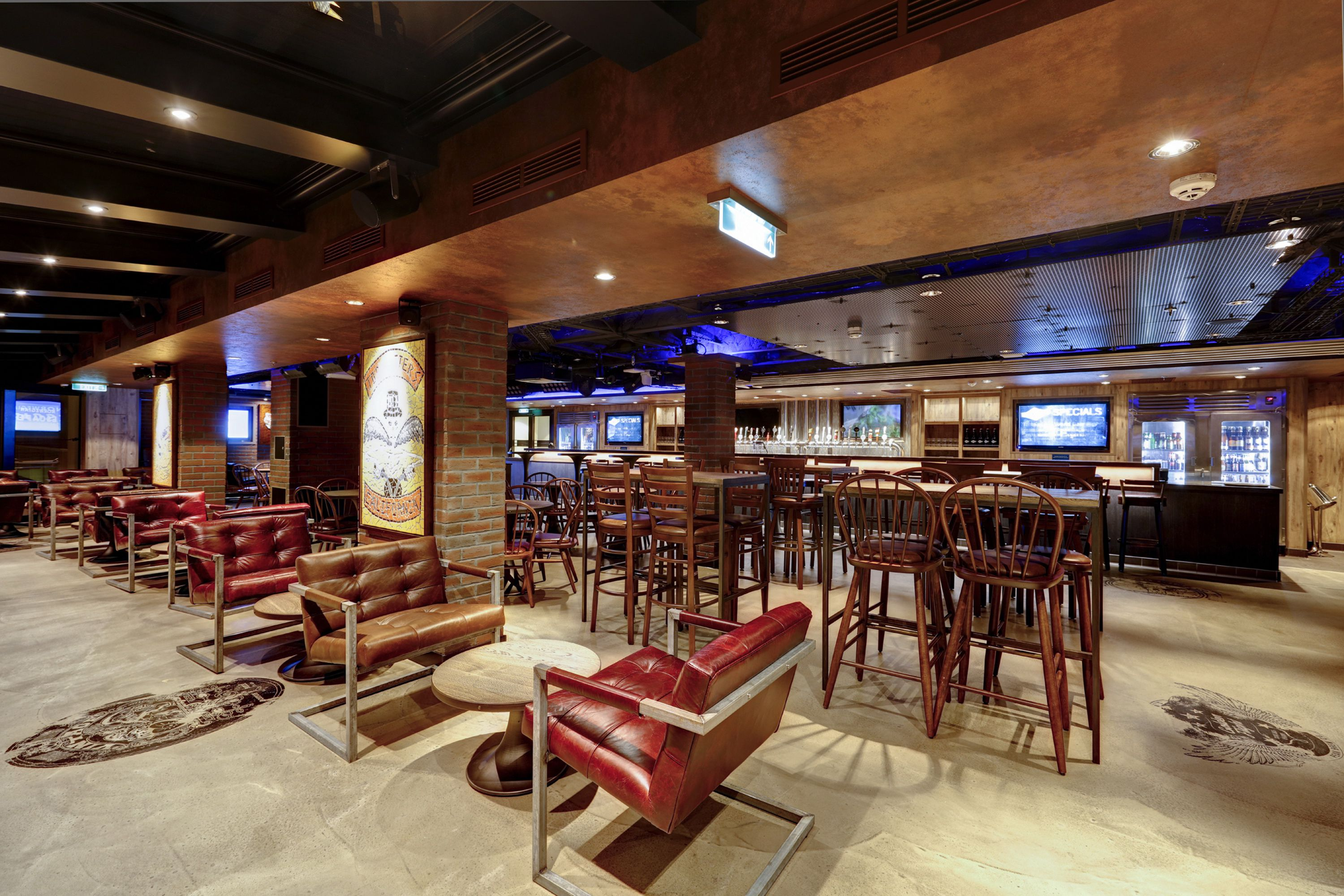 The District Brew House on the Norwegian Escape