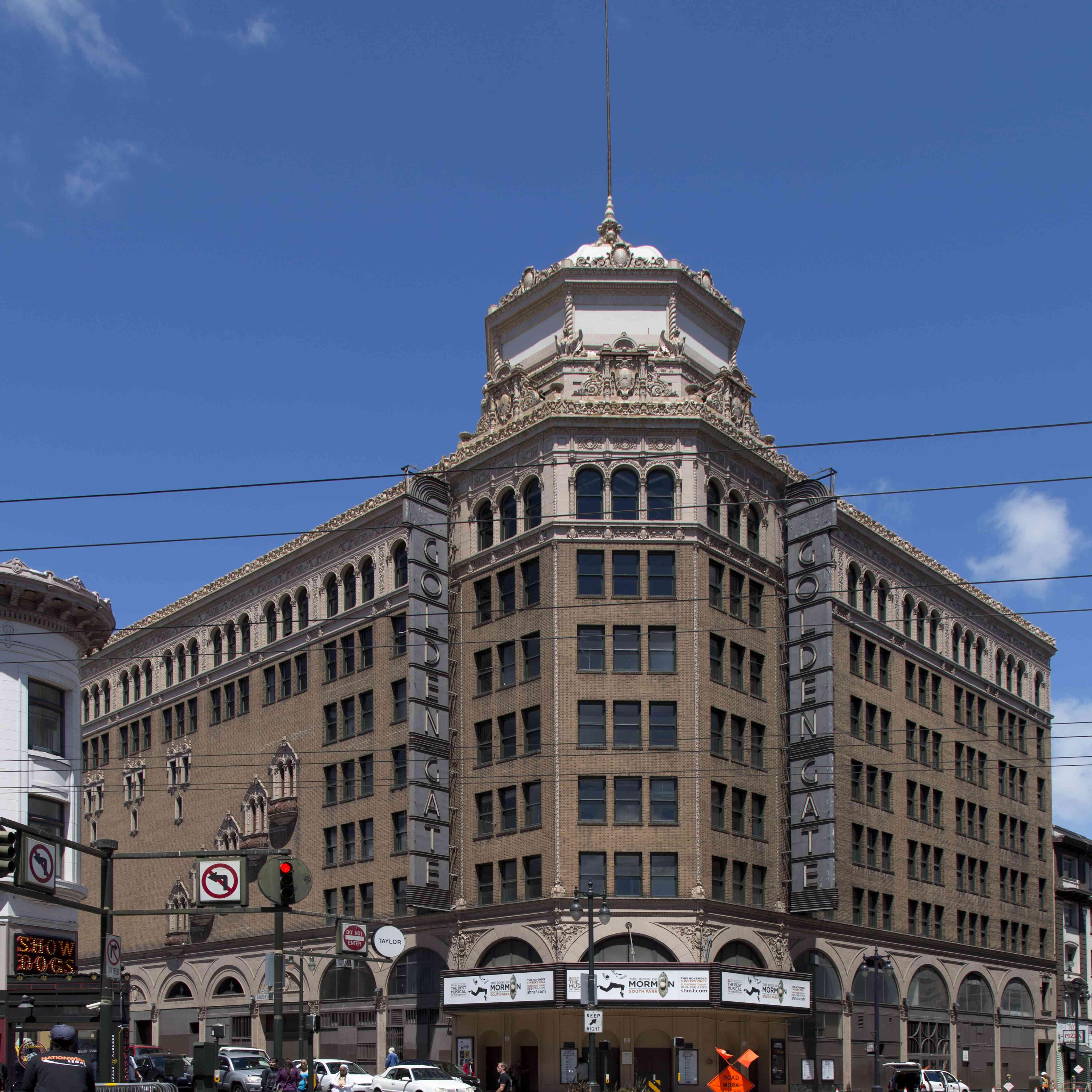 The Golden Gate Theatre, San Francisco, California