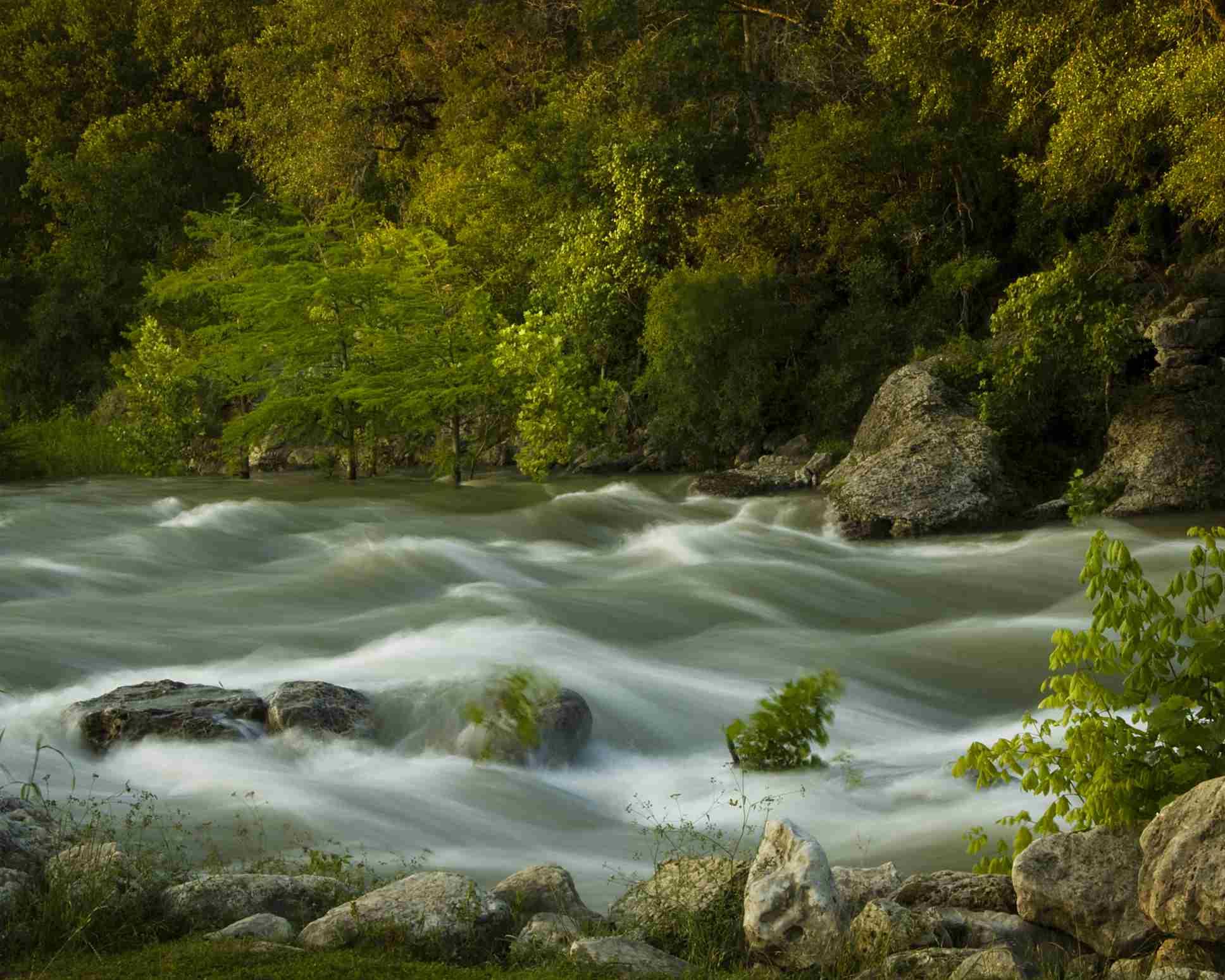 Guadalupe river, Gruene, Texas, USA.