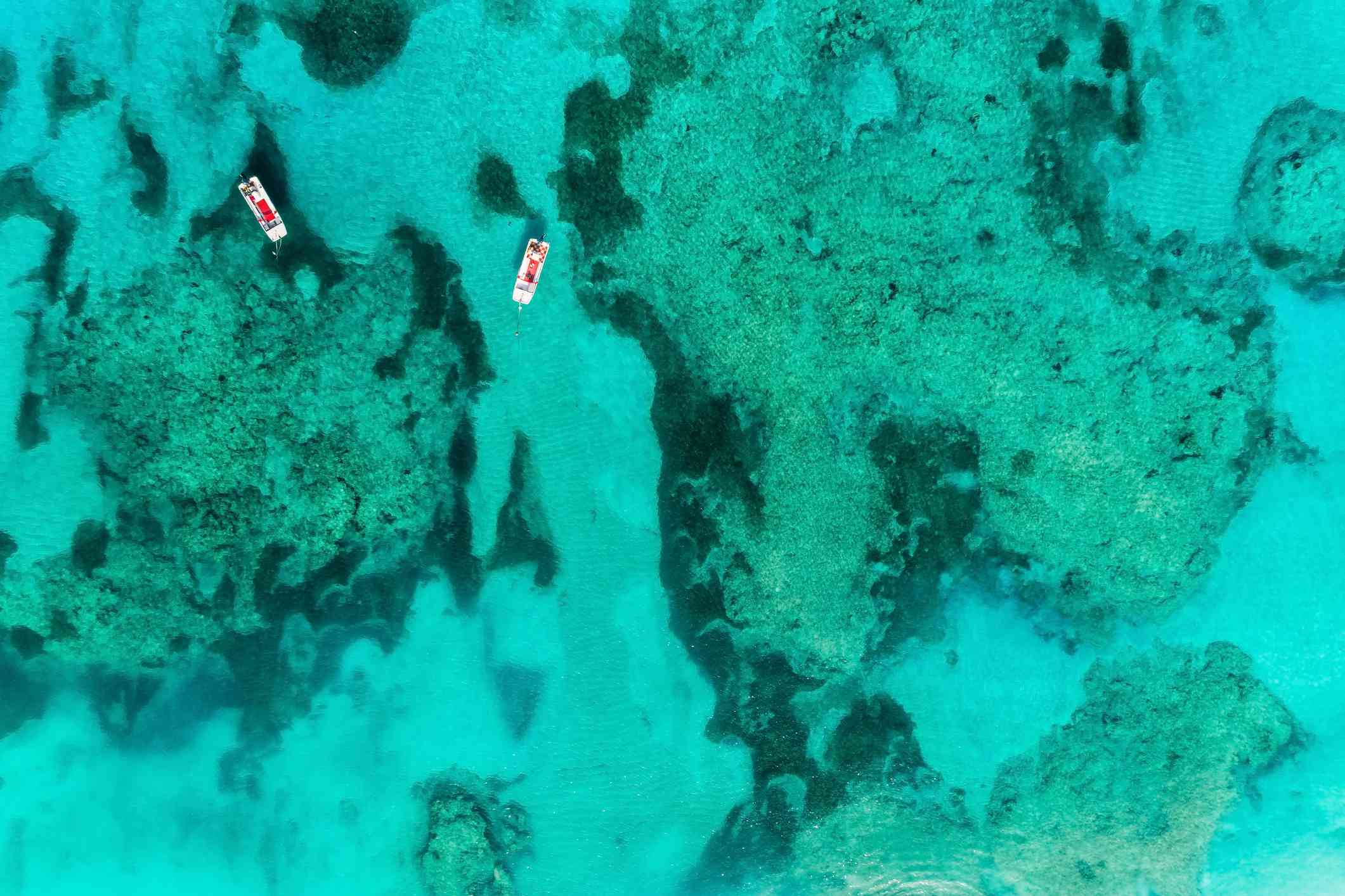 Snorkeling the reef in Turks & Caicos