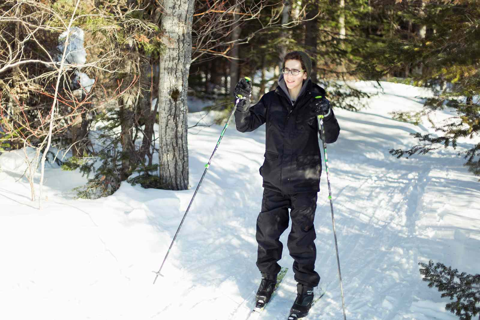 Montreal fitness options include these winter sports.