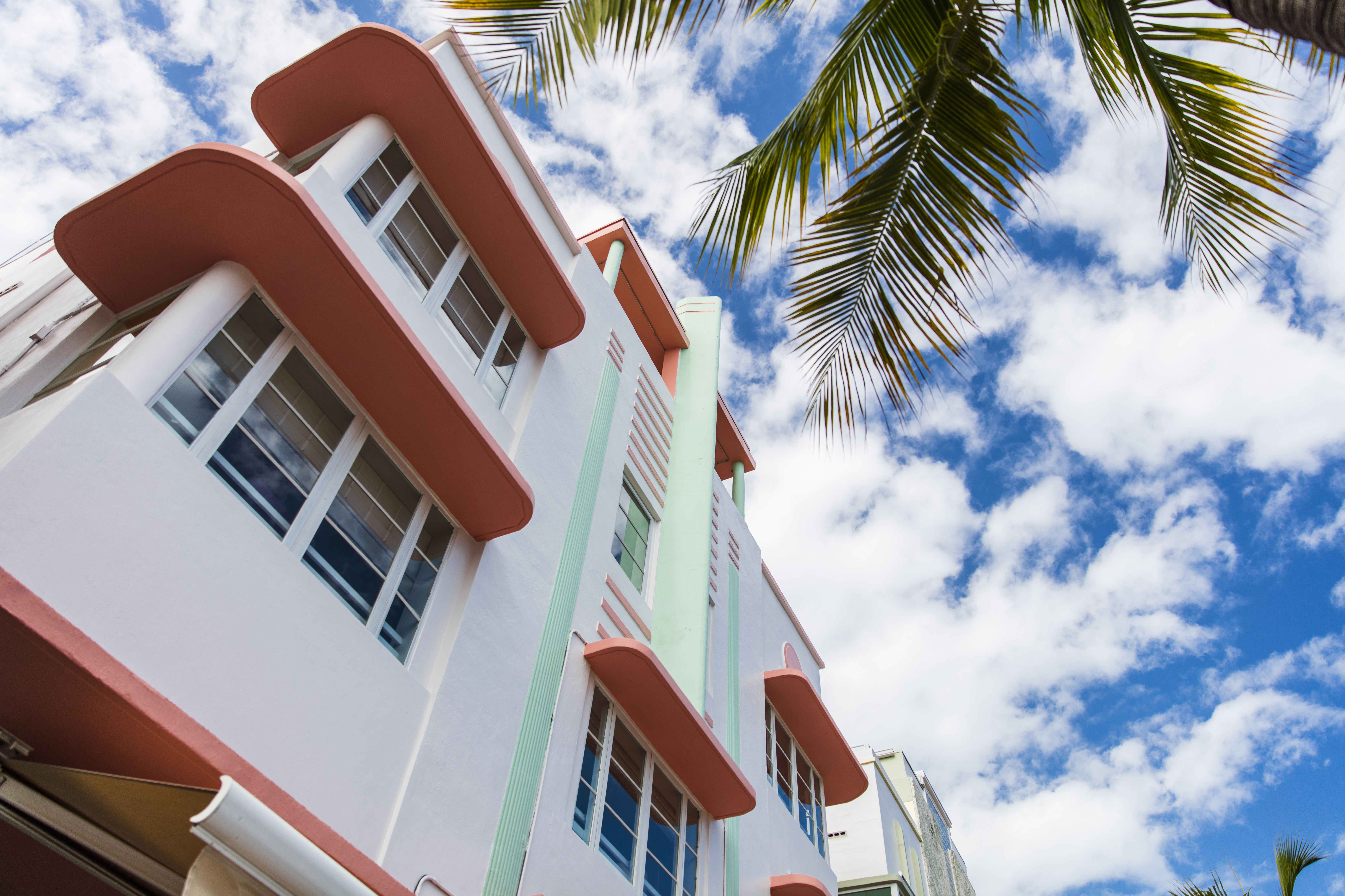 Art deco architecture in South Beach Miami