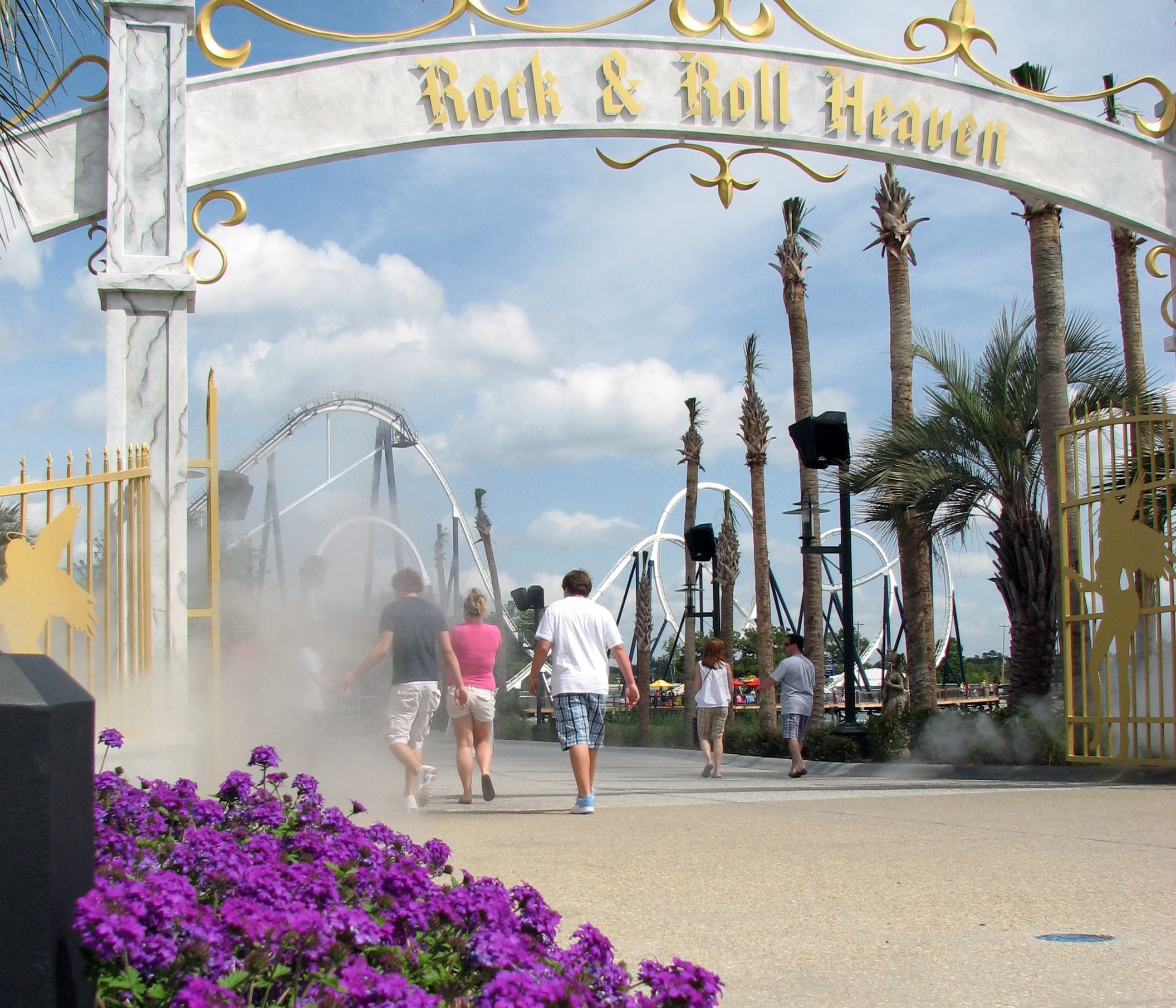 Hard Rock Park In Myrtle Beach