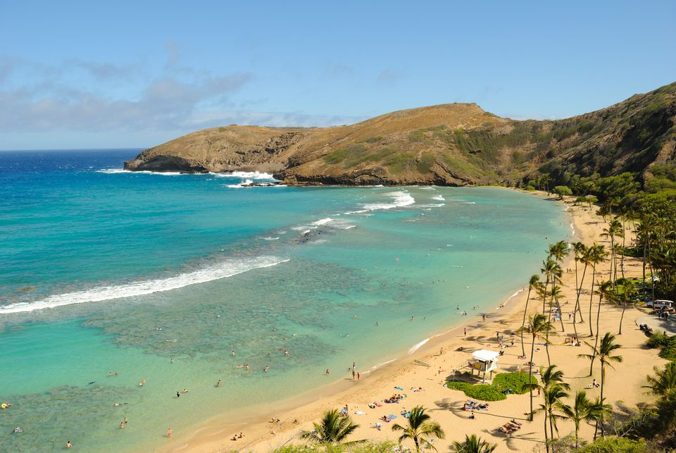 View of Hanauma Bay, Hawaii