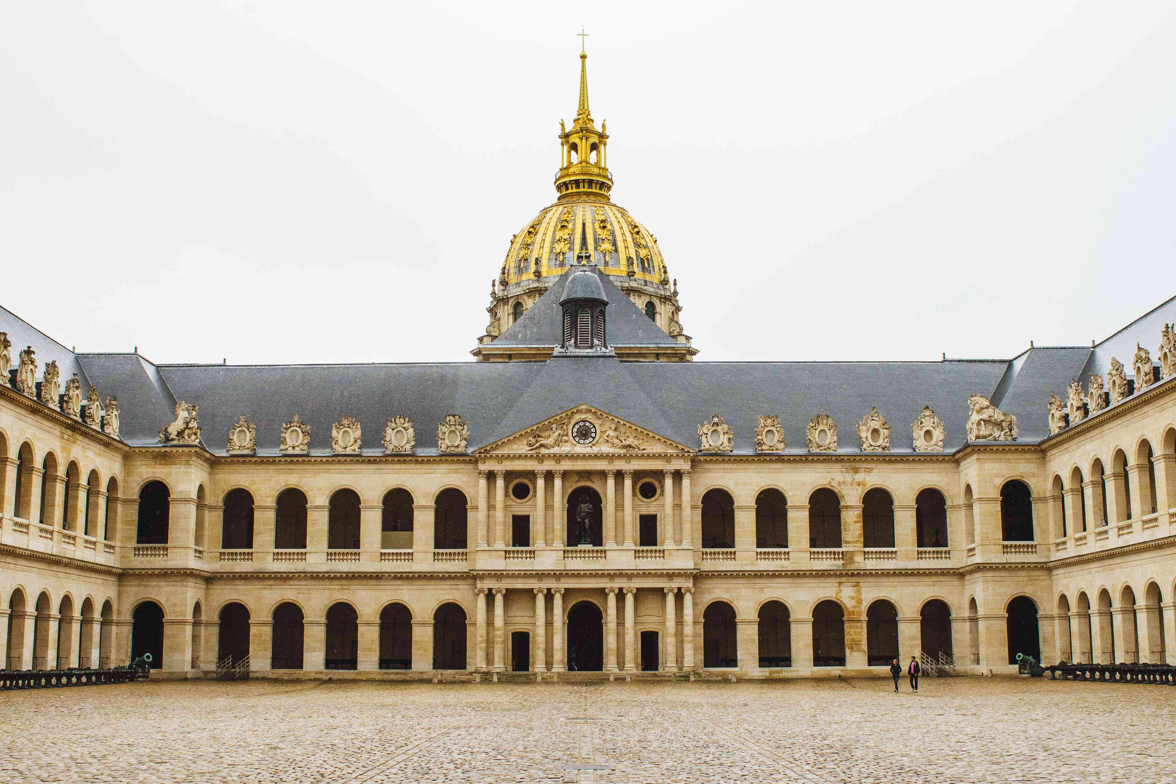 Courtyard with Les Invalides