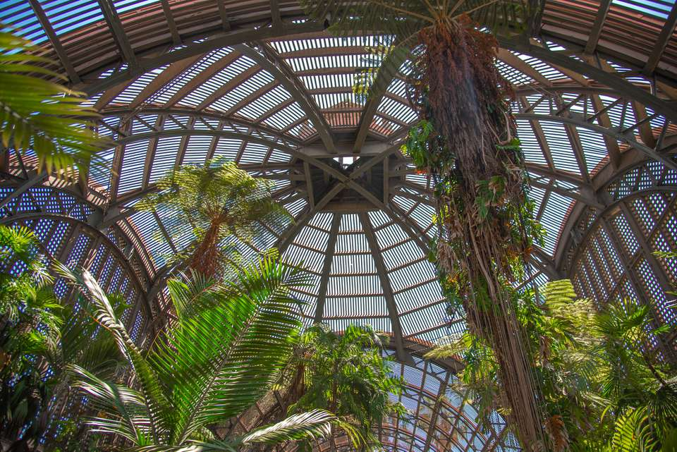 The Botanical Building at Balboa Park, San Diego