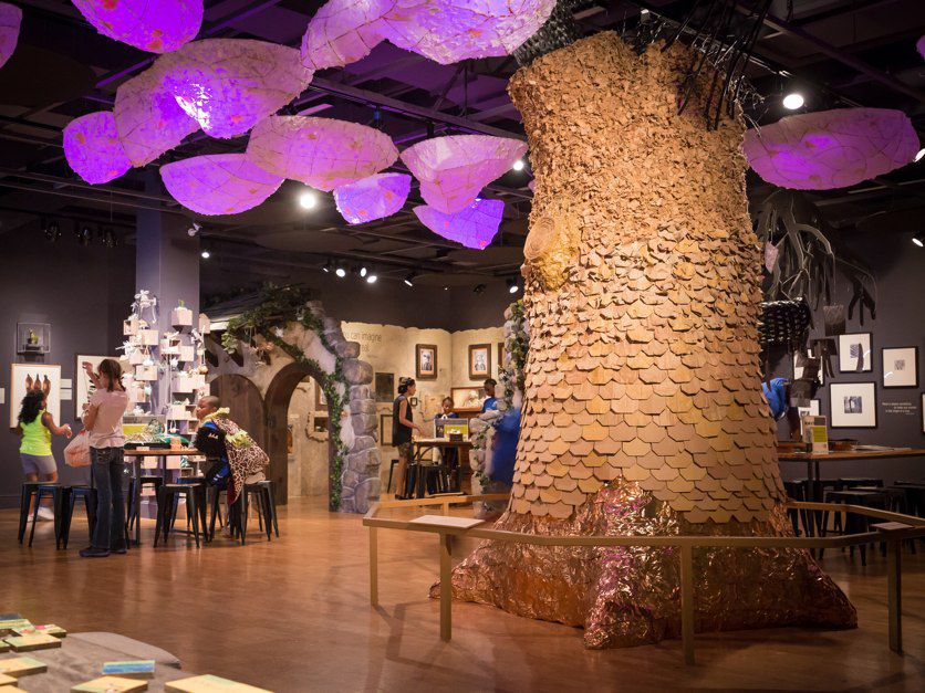 The Wonder Room in the Center for Creativity in the Columbus Museum of Art