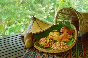 Spread of traditional food from Sabah, Malaysia