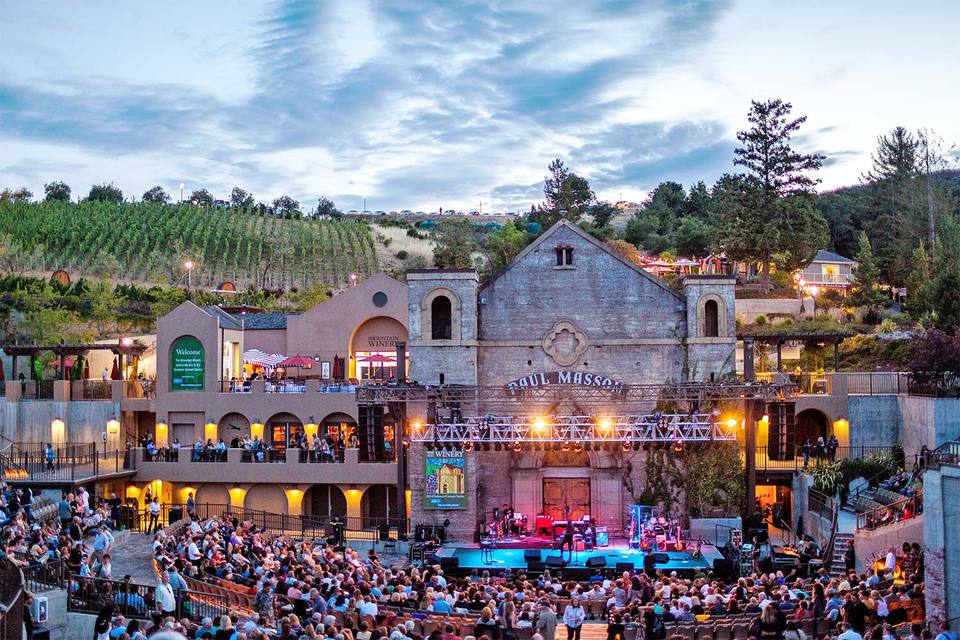 Concert at the Mountain Winery