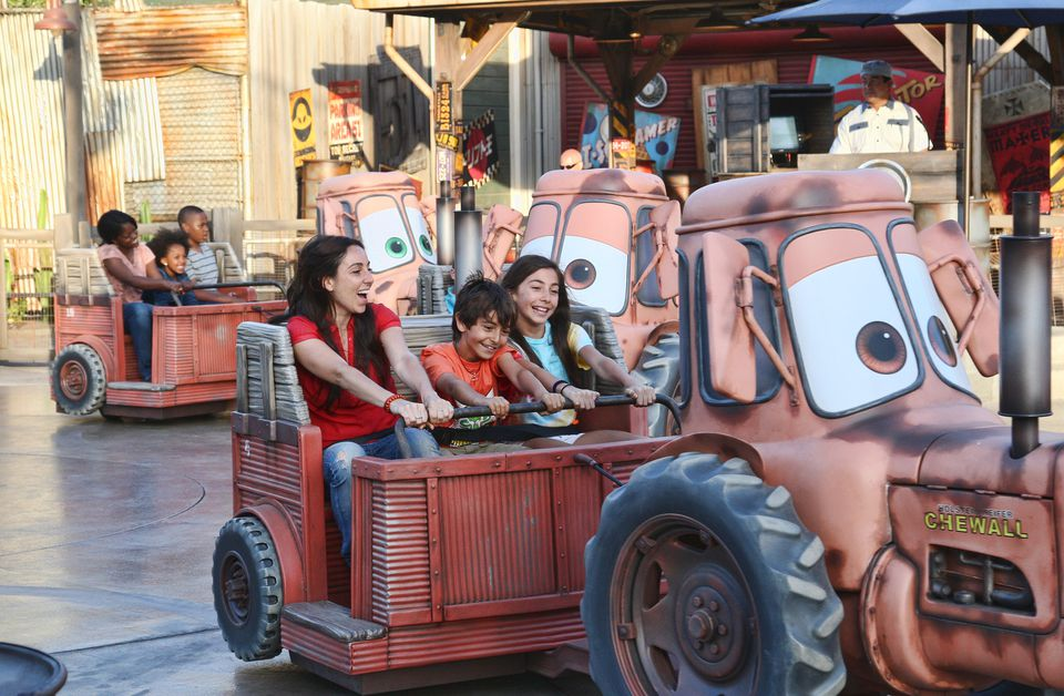 Mater's Junkyard Jamboree at Disney California Adventure
