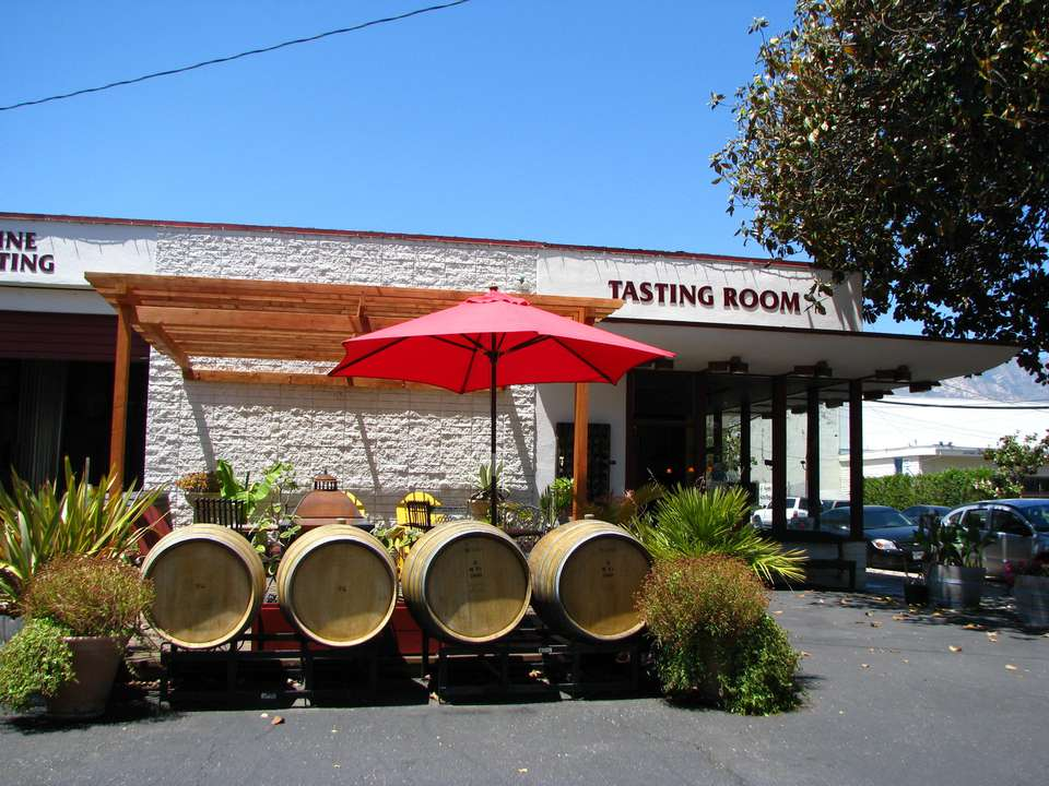 Oreana Winery, part of Santa Barbara's Urban Wine Trail, is also located in the city's hip Funk Zone