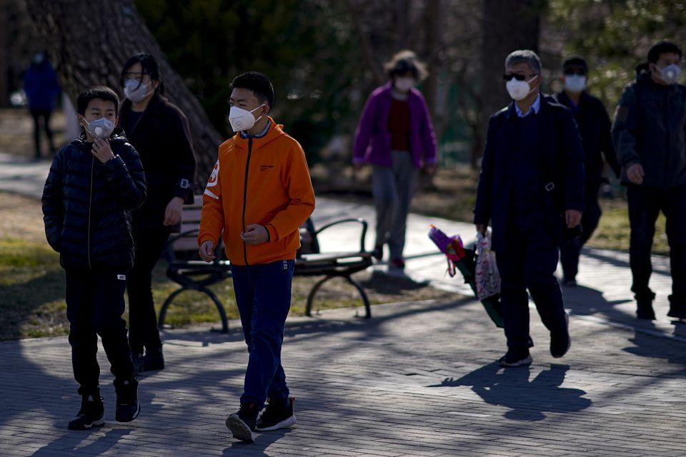 La vida cotidiana en Beijing en medio de COVID? 19
