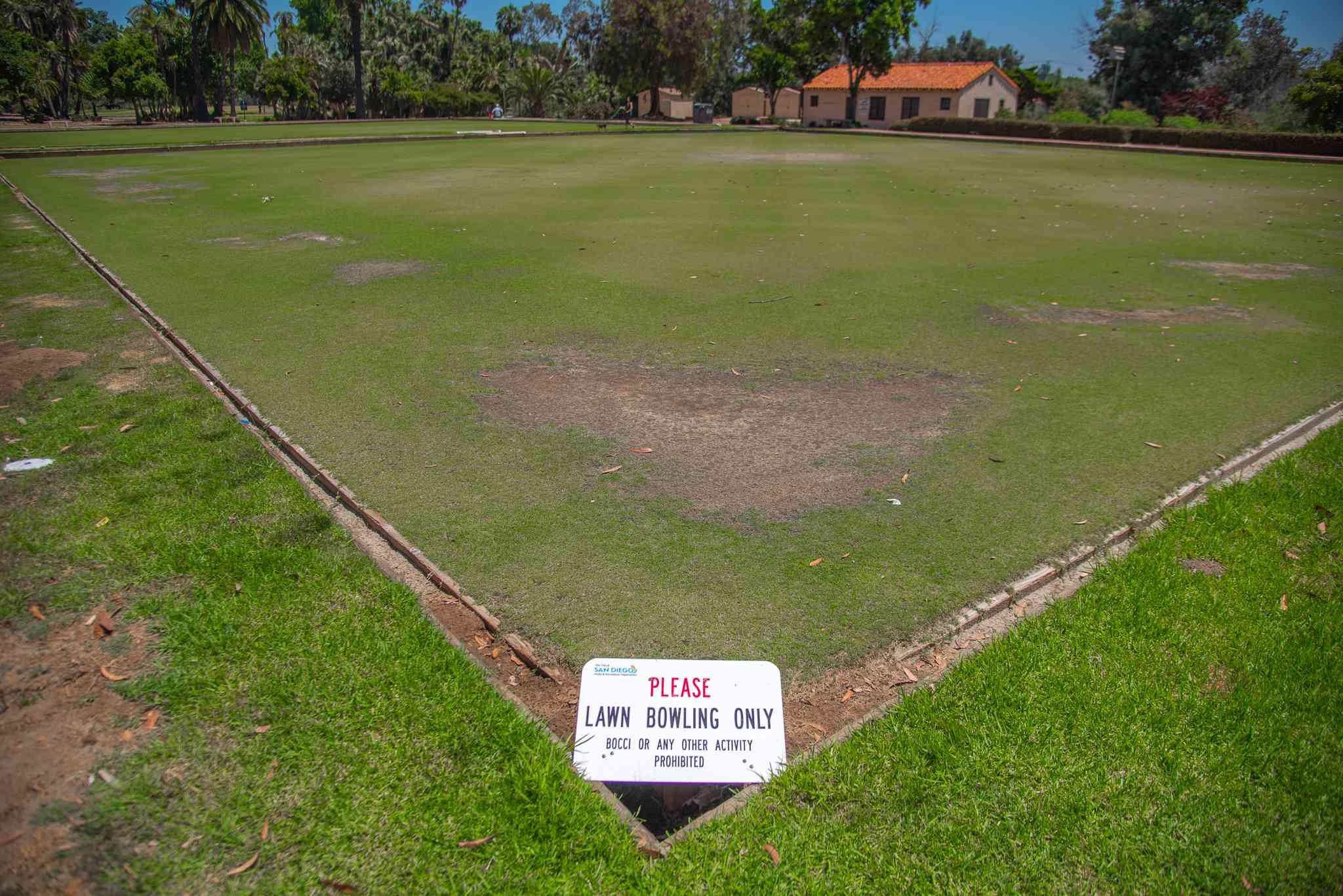 Lawn Bowling Greens at Balboa Park