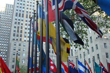 Rockefeller Center is a favorite Manhattan attraction.