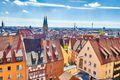 View of Nuremberg, Germany