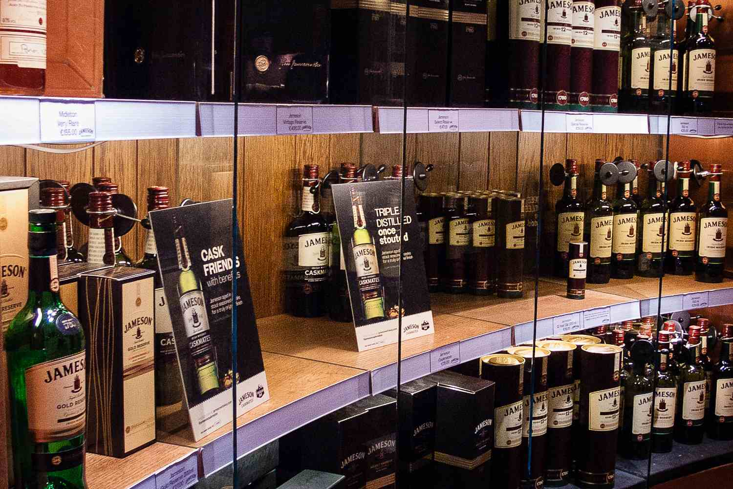 Whiskey galore - do we need to say more?