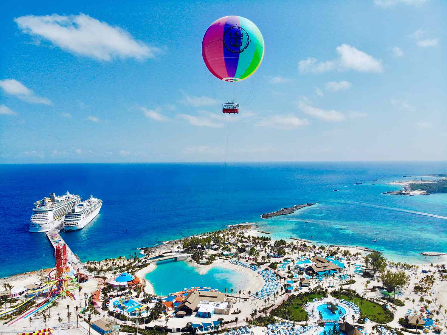 Perfect Day CocoCay helium balloon
