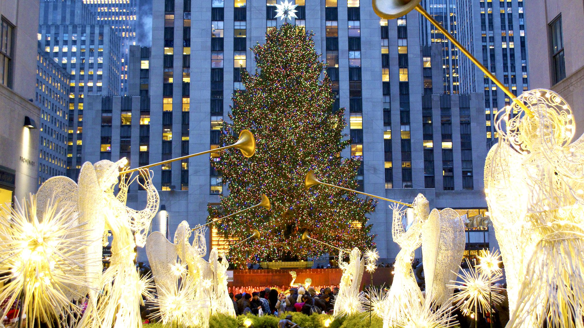 Christmas Tree In Nyc.Guide To Christmas In New York City Events Parades And Lights