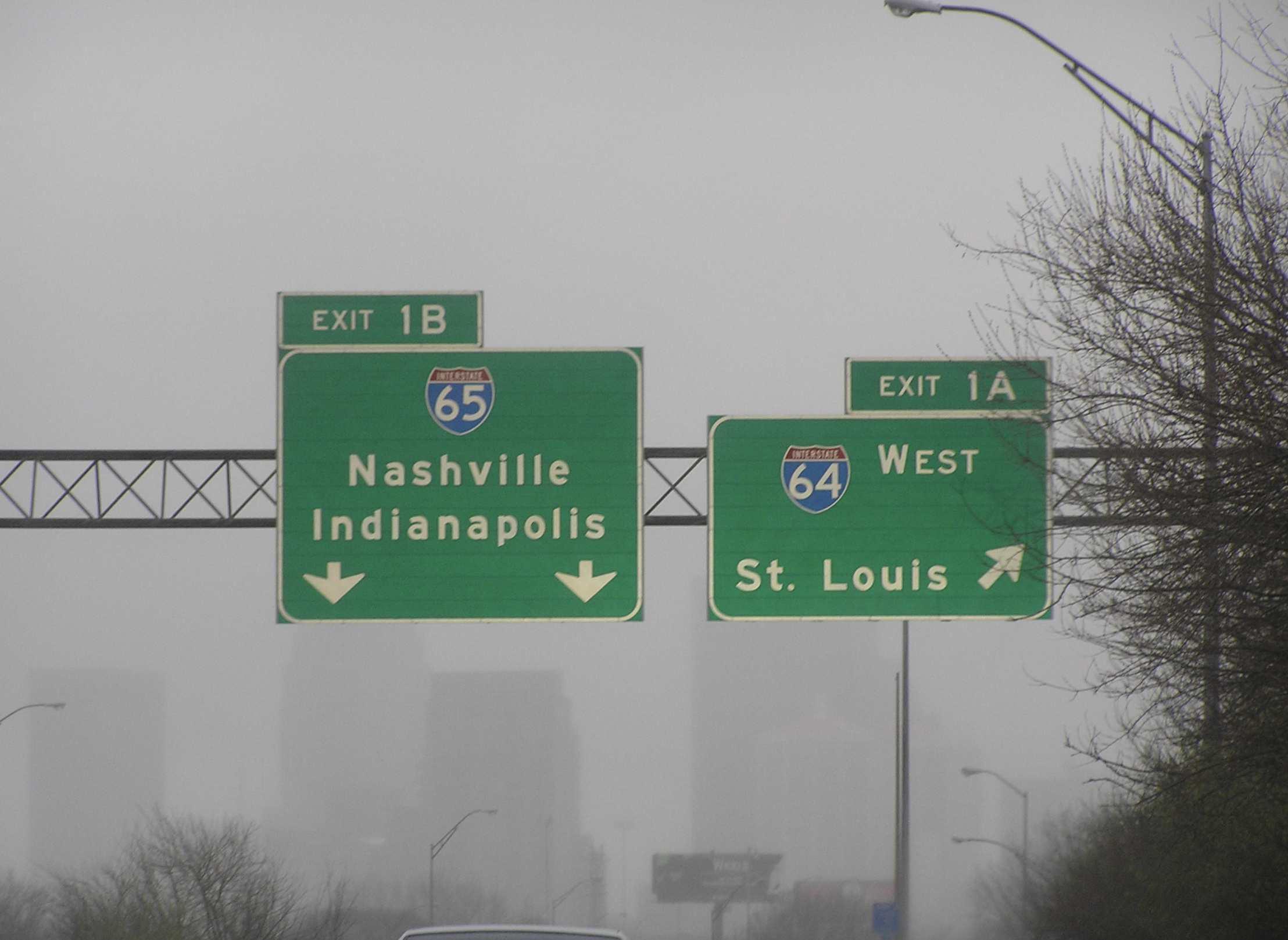 Louisville Interestatal 65 y 64