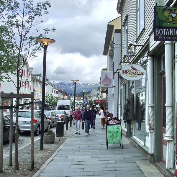 Downtown Voss, Norway