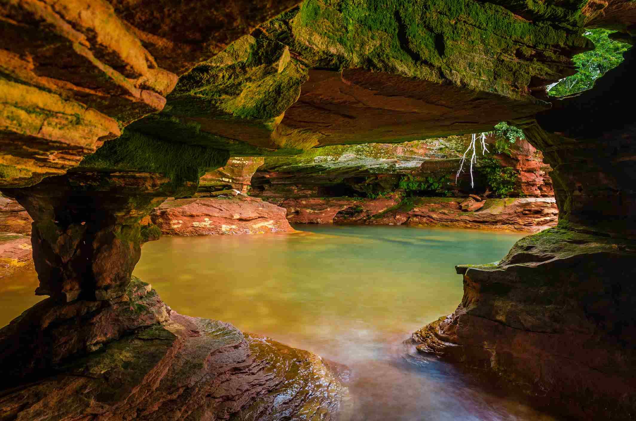 Sea Cave at Sand Island, Apostle Islands