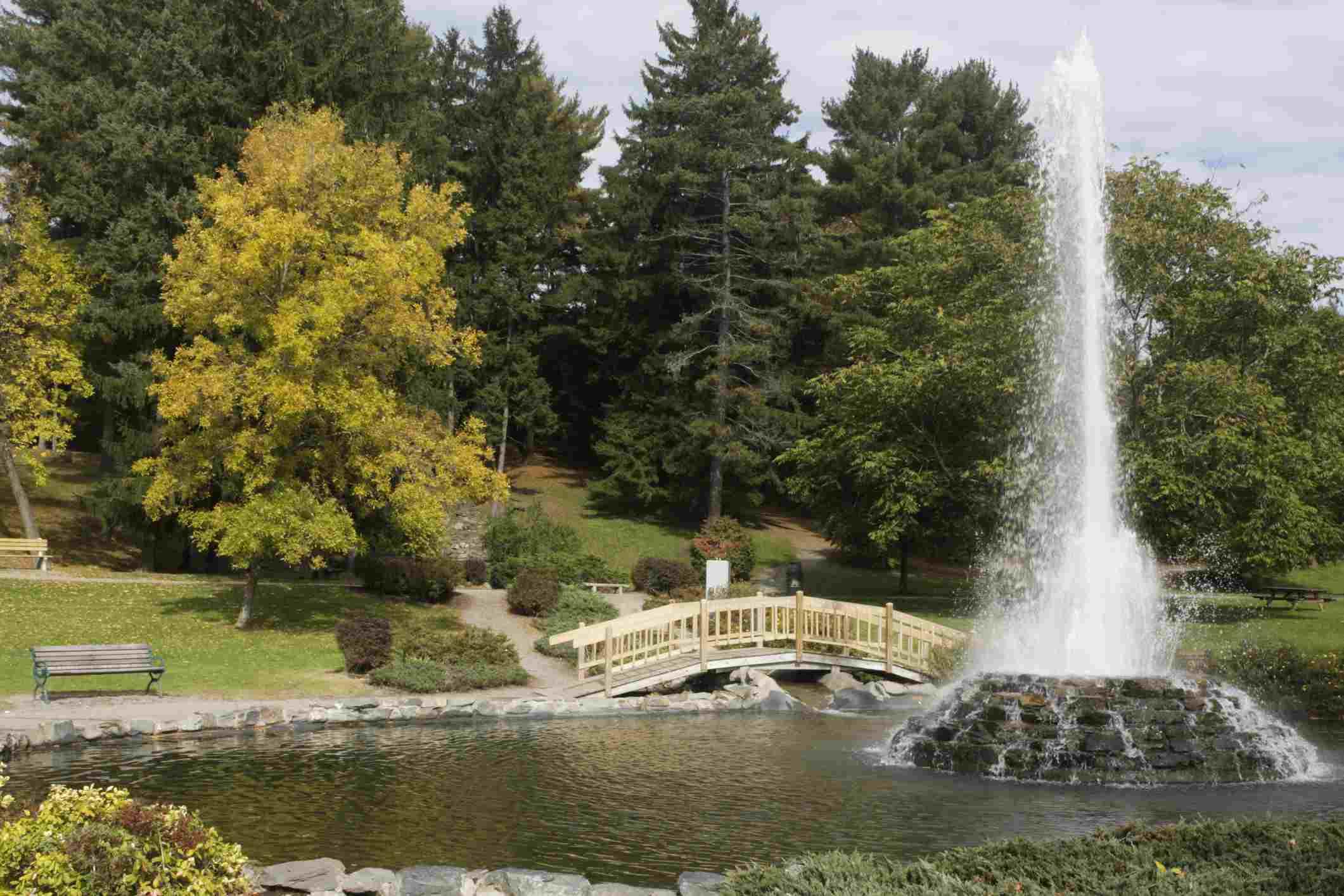 Cascade Park Bangor Maine