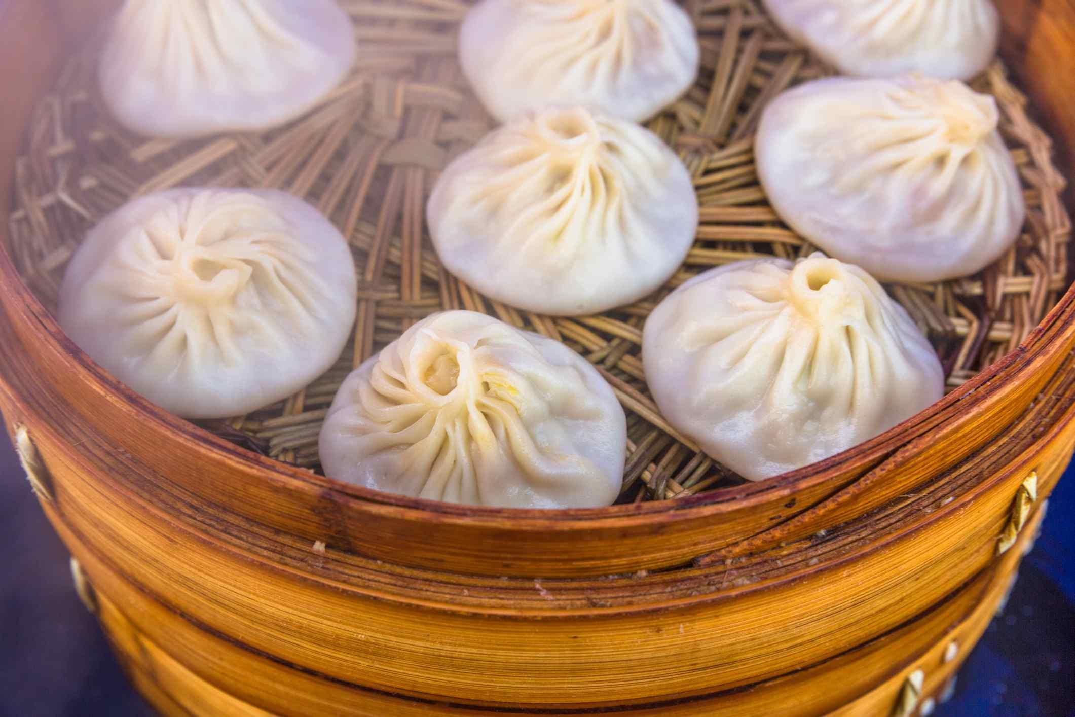 Steamed Dumplings, Xiaolongbao