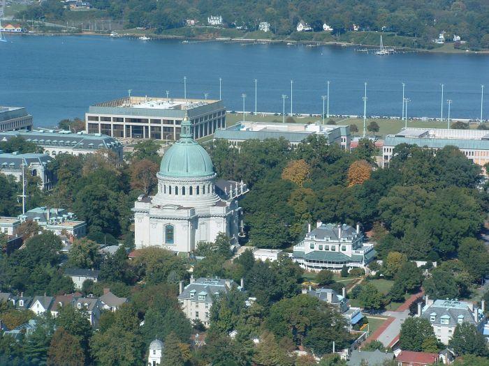 Naval Academy Chapel Tour